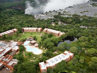 Standard Twin Percuma Akses ke Vic Falls (Standard Twin Free Access to Vic Falls)