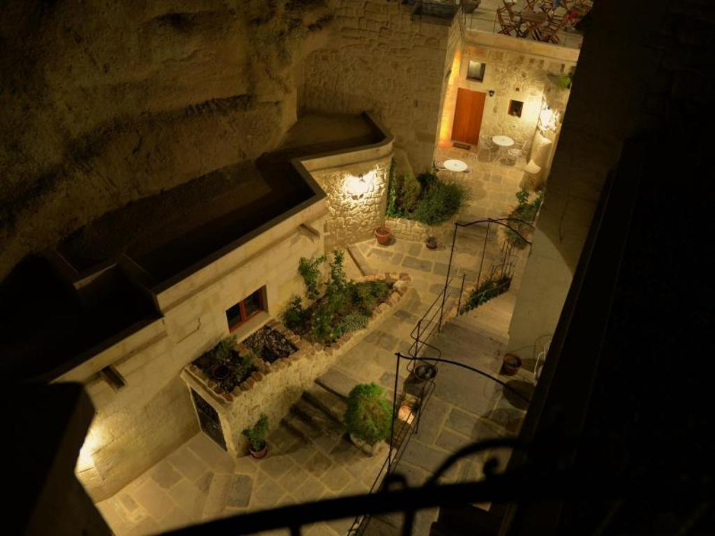 Hotellet indefra Courtyard Cave Hotel (Canyon Cave Hotel)
