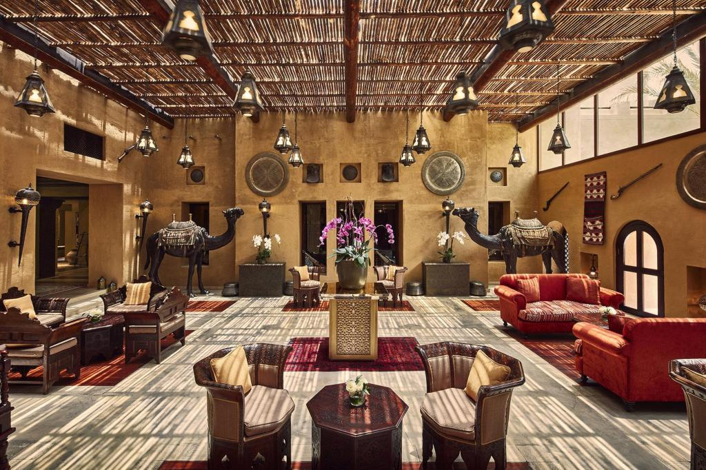 Lobby Bab Al Shams Desert Resort and Spa