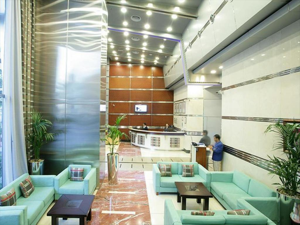 Lobby AlSalam Hotel Suites and Apartments
