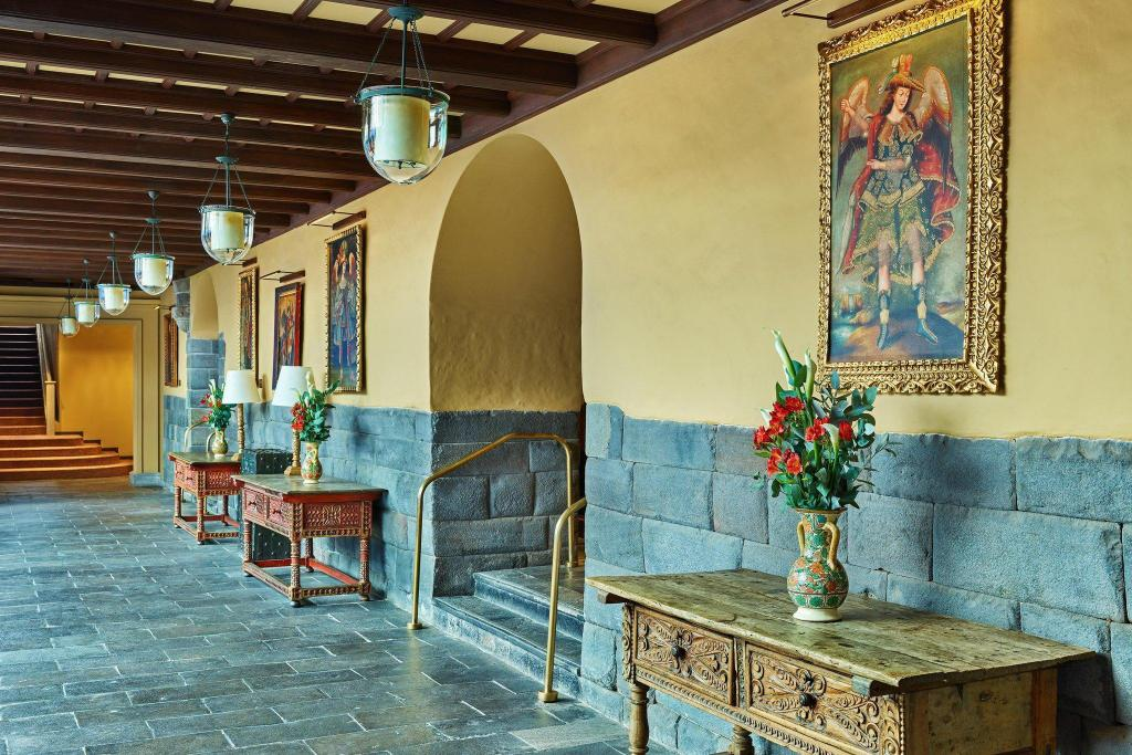 Lobby Palacio del Inka, a Luxury Collection Hotel, Cusco