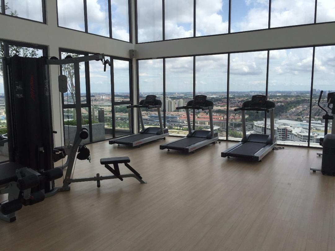 Condo for rent at usj one park usj for rm by steven chong