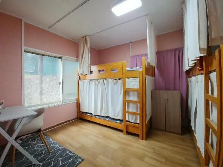 1 Person in 5-Bed Dormitory - Female Only - View Greenday Guesthouse