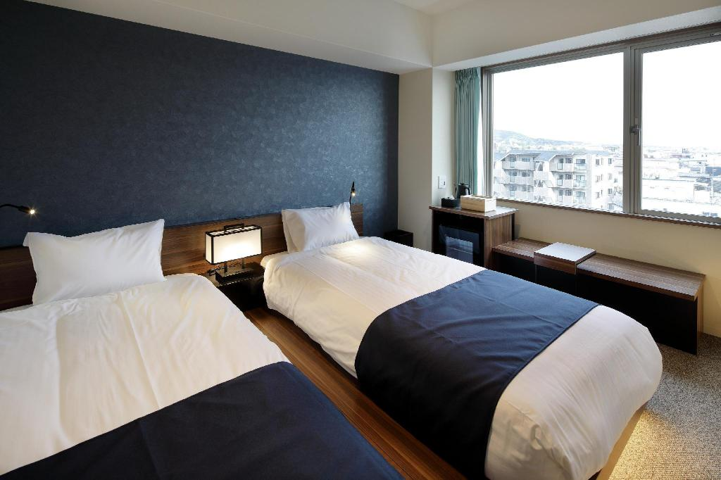 Standard Twin - Room plan STAY KIYOMIZU GOJO