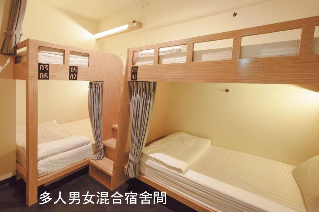 混合宿舍雙人床位 (Double Bed in Mixed Dormitory )
