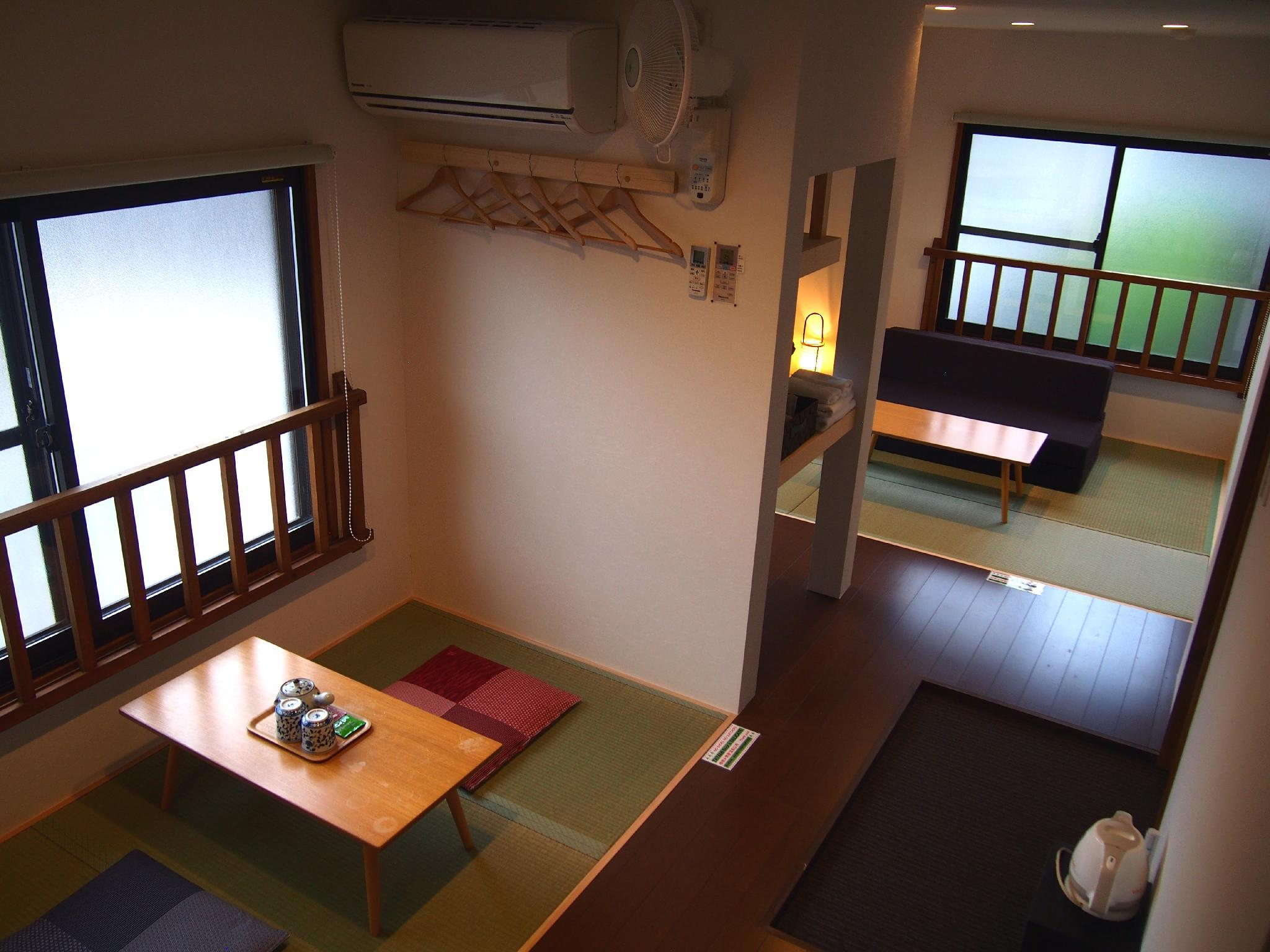 日式三人房 - 需共用衛浴 (Japanese Style Triple Room with Shared Bathroom)