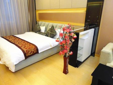 Deluxe Queen Room Beijing Shanglv Zhixuan Yongli International Service Apartment