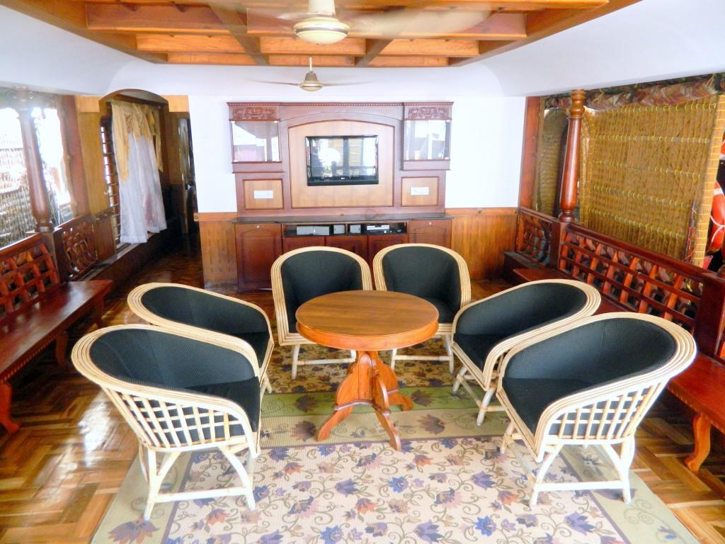 Vista Interior Grandeur Houseboats