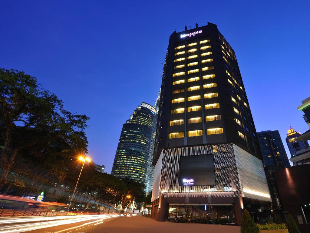 Le apple boutique hotel klcc in kuala lumpur room deals for Le boutique hotel
