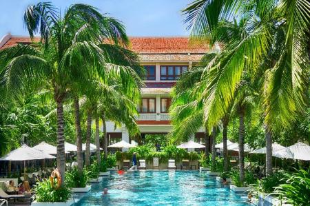 Schwimmbad Almanity Hoi An Wellness Resort – Spa Inclusive