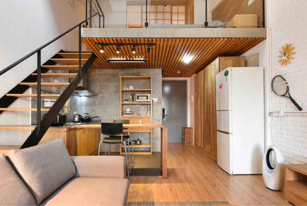 Zemu Liangju Solid Wood Loftartistic Home Shanghai