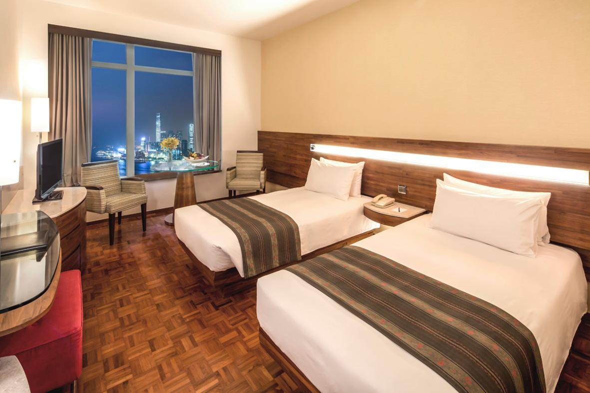 Kamar Twin dengan Pemandangan Pelabuhan (Harbour View Twin Room)