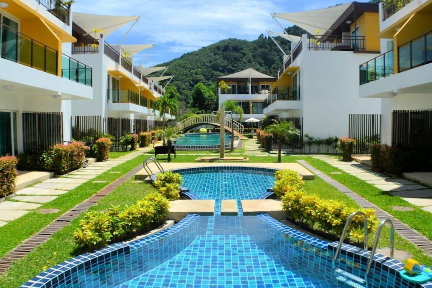 Ap13 Large House With Pool And Gym Playground Entire House Phuket Deals Photos Reviews