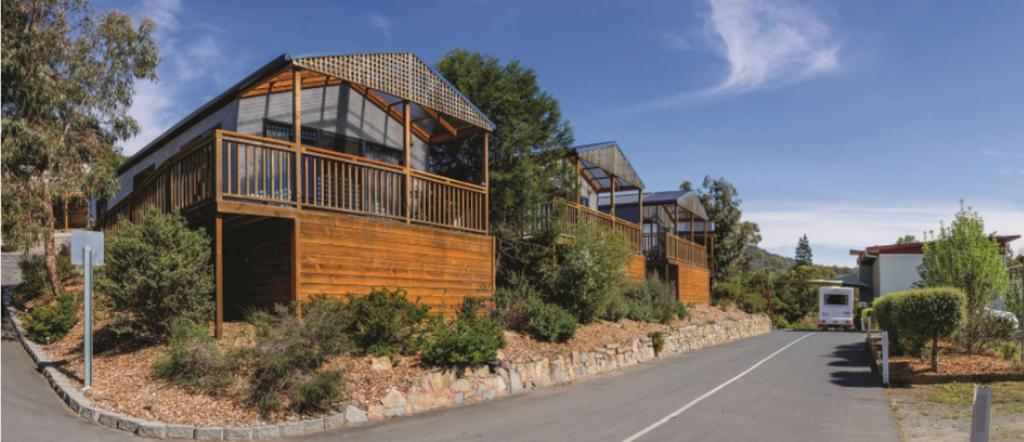 Exterior view Discovery Parks - Hobart