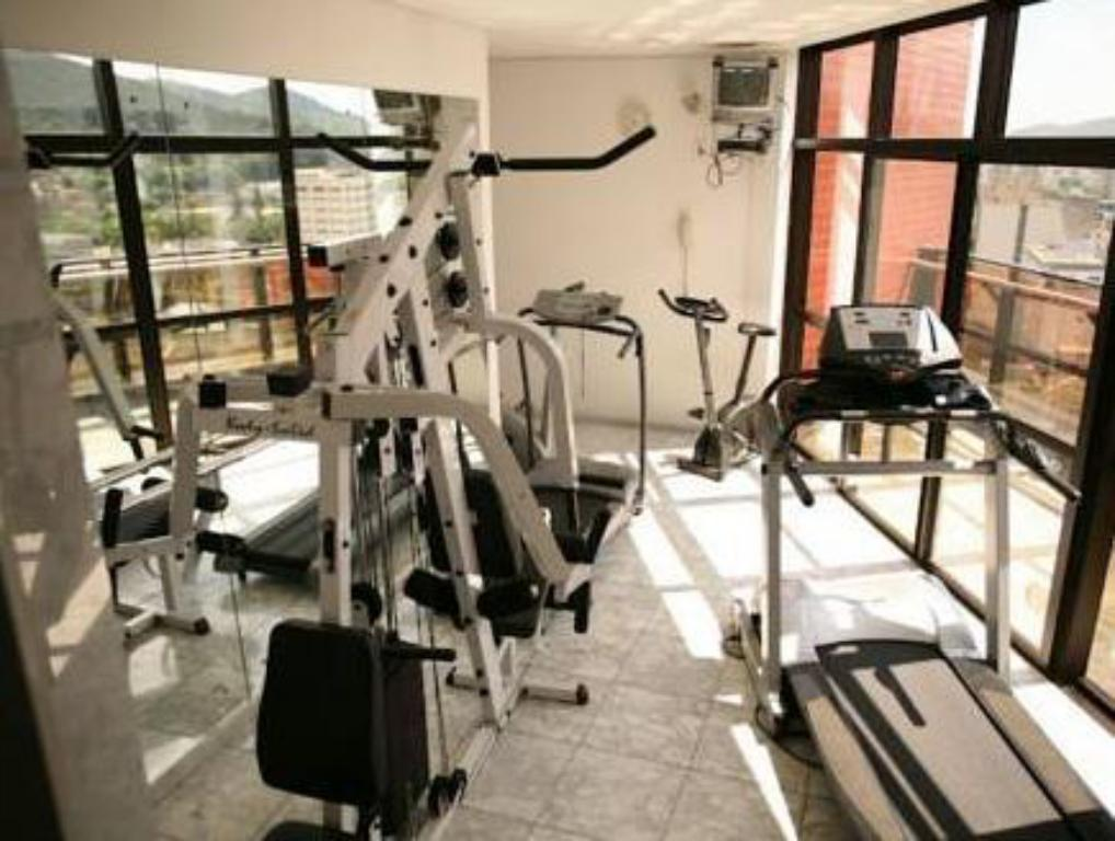 Fitness center Blue Tree Towers Joinville