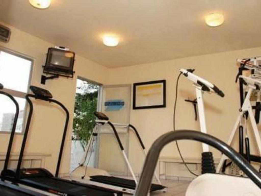 Fitness center Plaza Blumenau Hotel