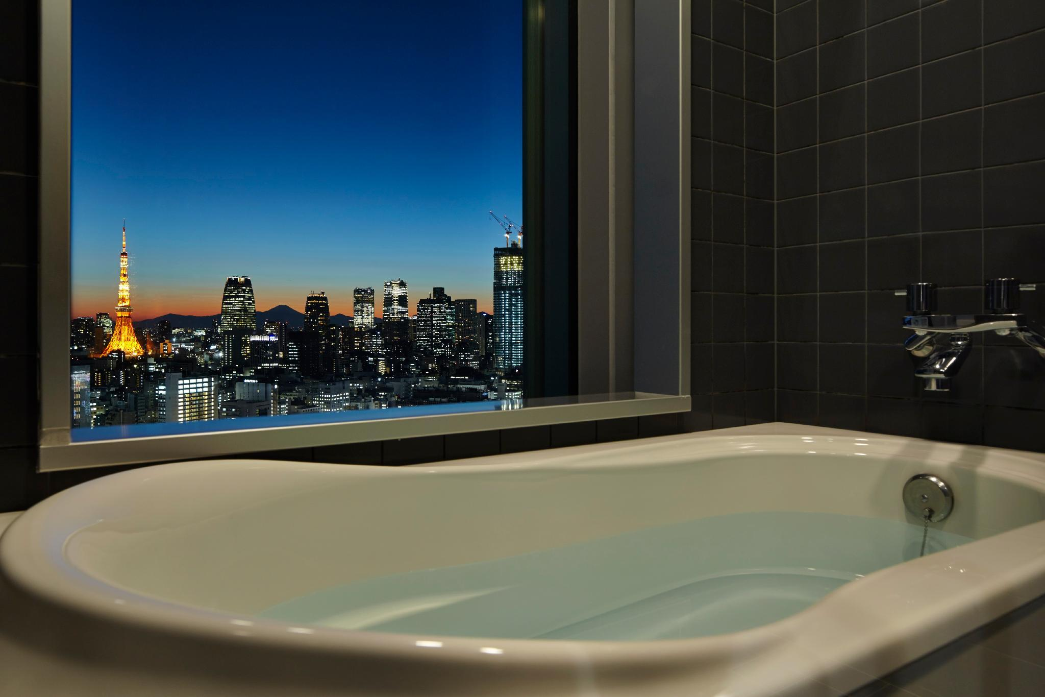 Tokyo Tower View Double Room with Bathroom with View - Non-Smoking