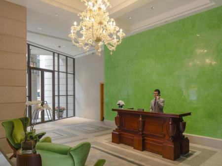 Lobby Lanson Place Hotel