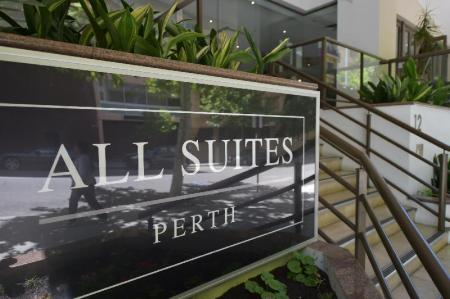 مدخل أول سويتس بيرث (All Suites Perth)