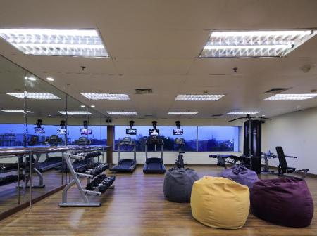 Fitness center Allium Batam Hotel
