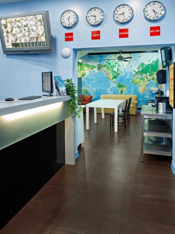 Lobby Central Park West Hostel