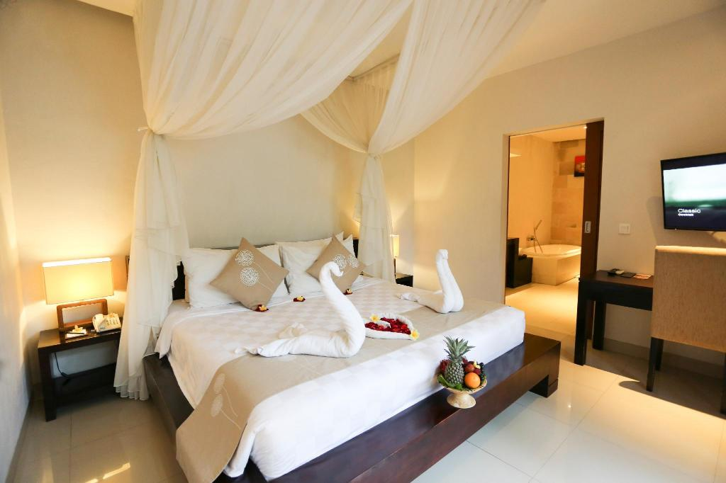 Vila Kolam Renang 1-Kamar Tidur - Kamar Tidur The Light Exclusive Villas and Spa
