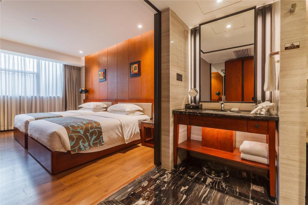 Standard Twin Room - View Jolie Vue Boutique Hotel Guilin