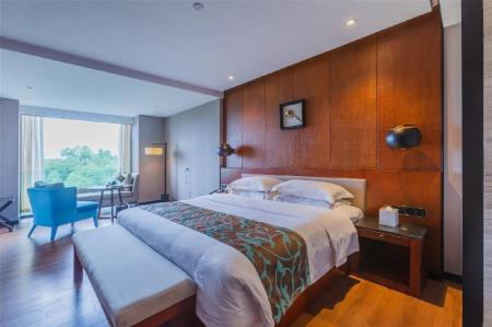 View King Bed - Room plan Jolie Vue Boutique Hotel Guilin