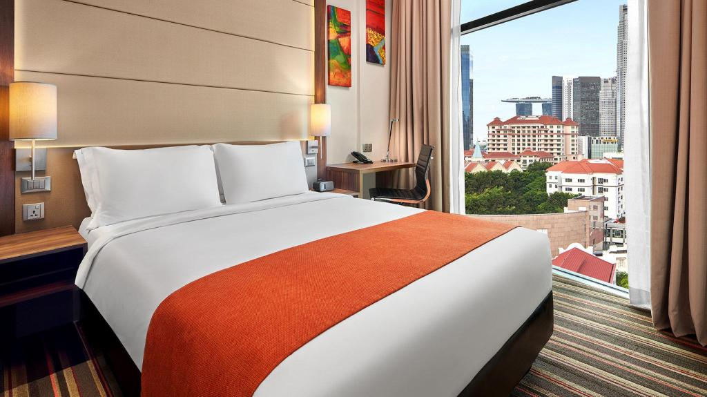 1 Queen Standard Non-Smoking - Bedroom Holiday Inn Express Singapore Clarke Quay (SG Clean Certified)