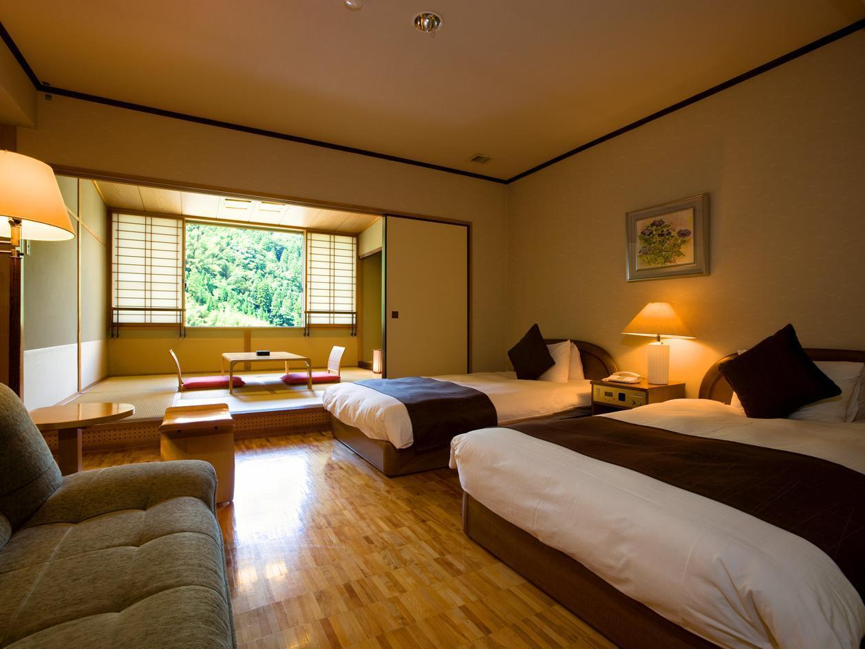 Japanese-Style Standard Twin Room - High Floor