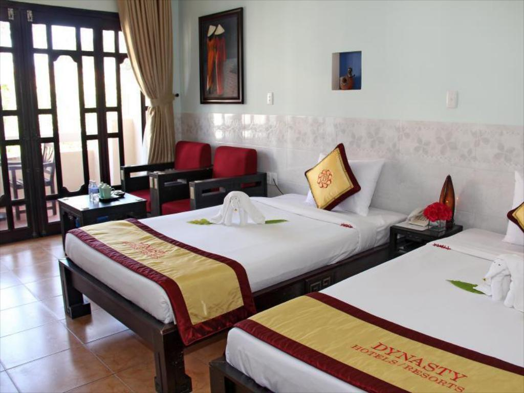 Superior met tuinuitzicht - Bed Dynasty Beach Resort - Hoang Trieu