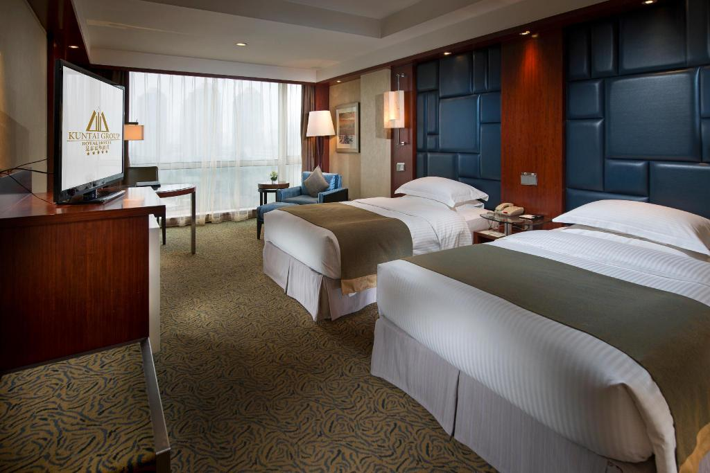 Standard Twin Bed - Bed Kuntai Royal Hotel