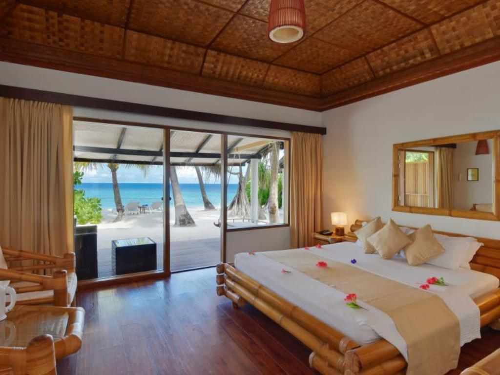 Superior Beach Bungalow Angaga Island Resort and Spa