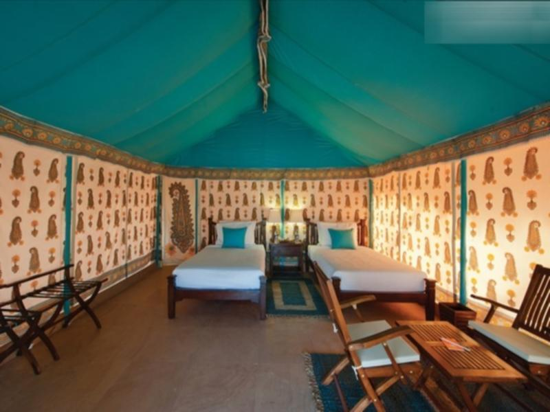 Luksus Swiss Cottage telte (Luxury Swiss Cottage Tents)