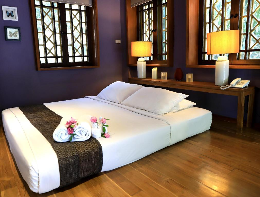 Butterfly suite - Bed Kao Mai Lanna Resort