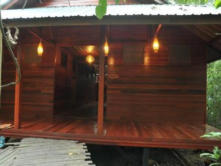 single bed- bunk bed dormitory room Borneo Natural Sukau Bilit Resort