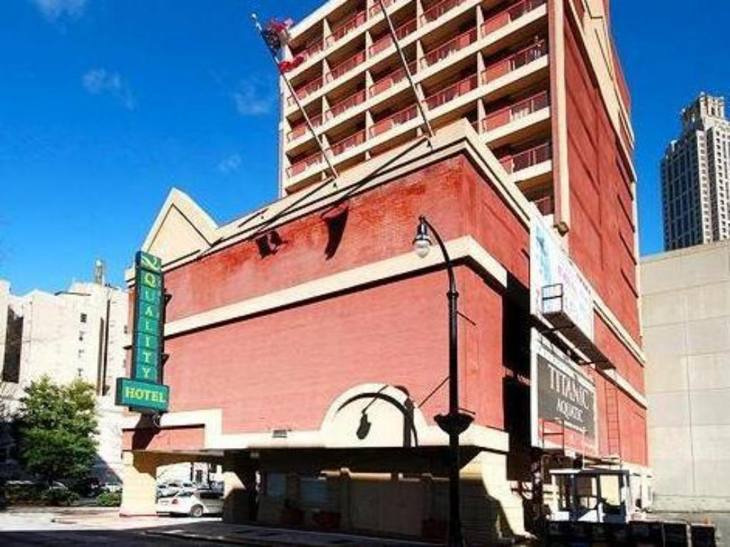 Hotel Building Barclay Atlanta Downtown