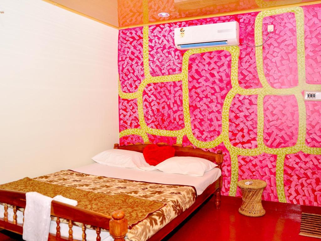 Hotellet indefra Marari Beachgarden Guest House
