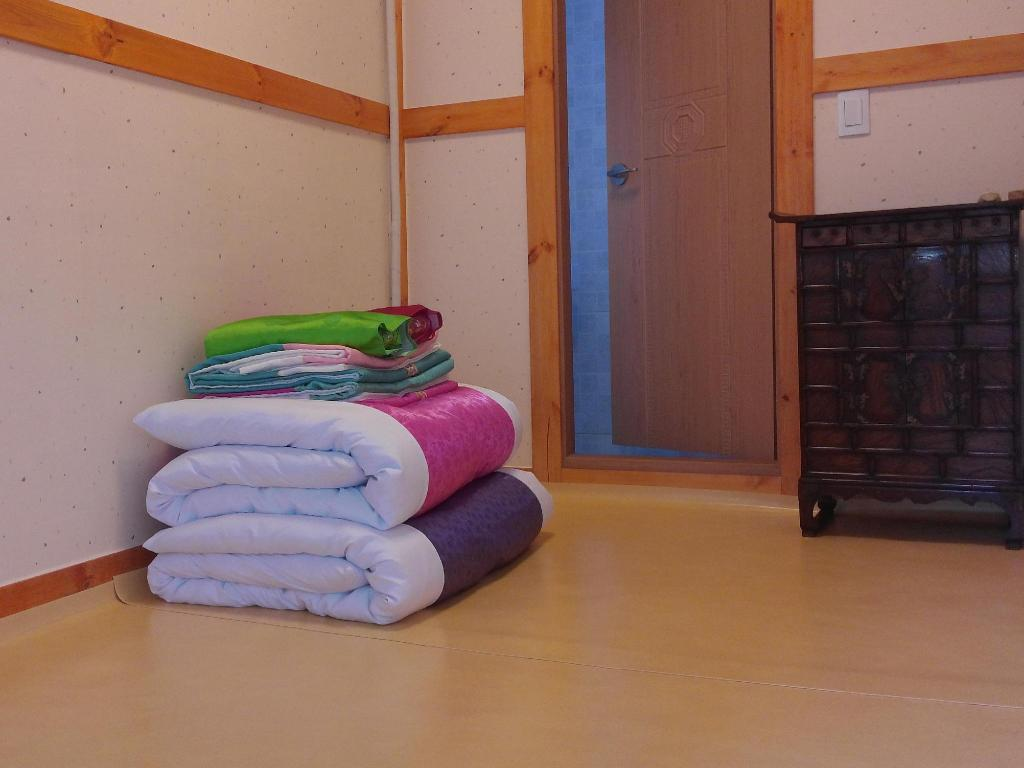 Double with Private Bathroom Sodam Hanok Guesthouse