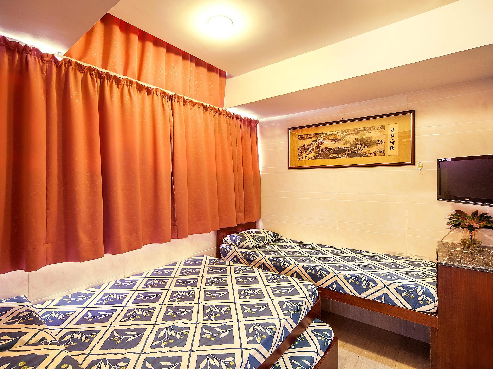 Triple Bed Room (1 Single bed and 1 Double bed)