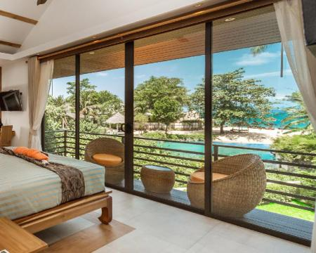 Hotellet från insidan Khwan Beach Resort & Luxury Glamping and Pool Villas Samui - Adults Only