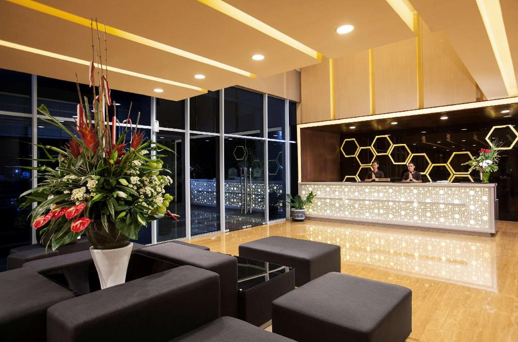 Lobby Best Western Premier The Hive
