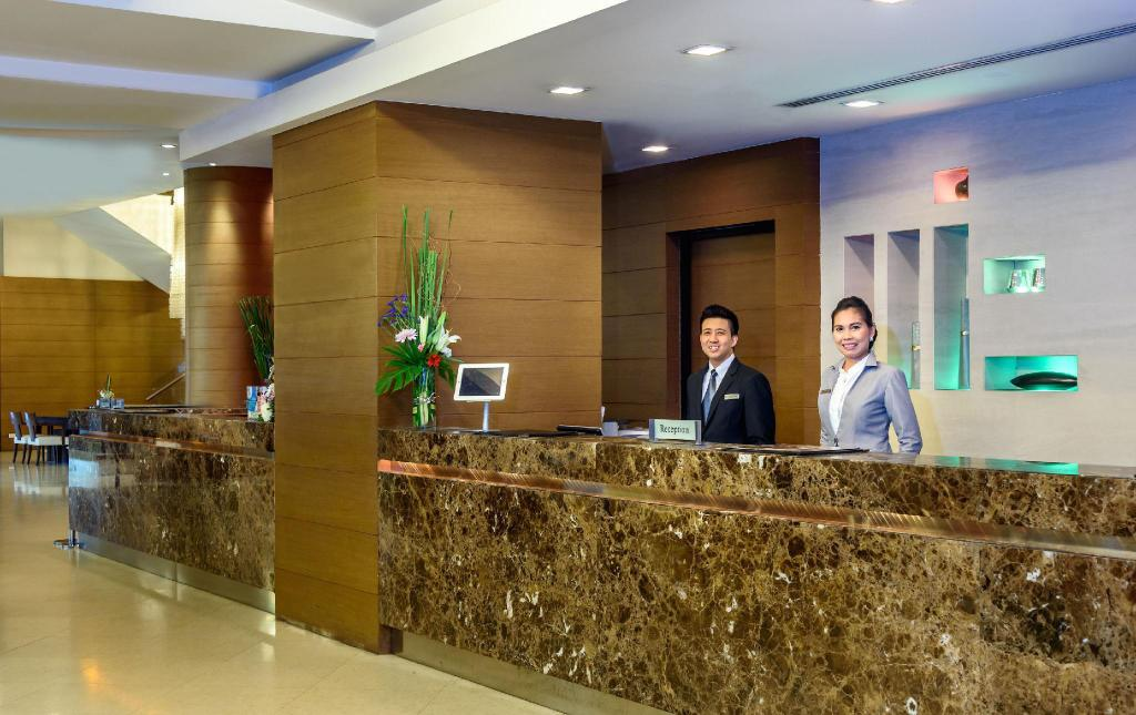 Lobby Grand Sukhumvit Hotel Bangkok – Managed by Accor
