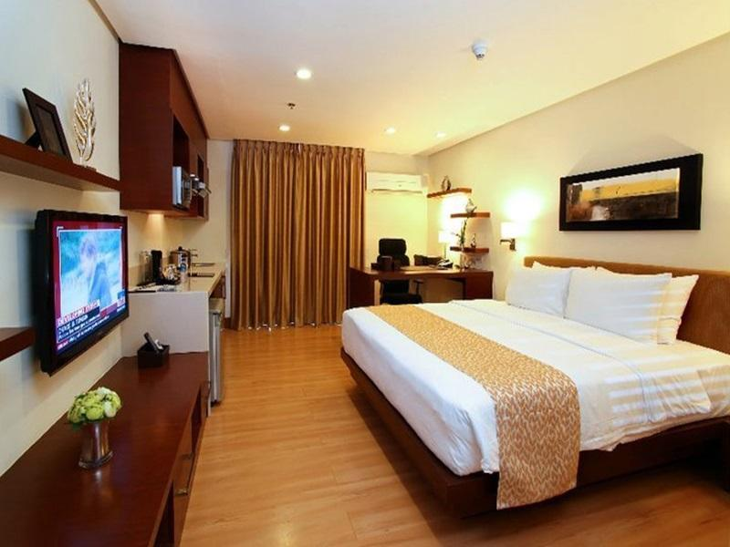 Business executive-svit enbart rum (Business-Executive Suite Room Only)