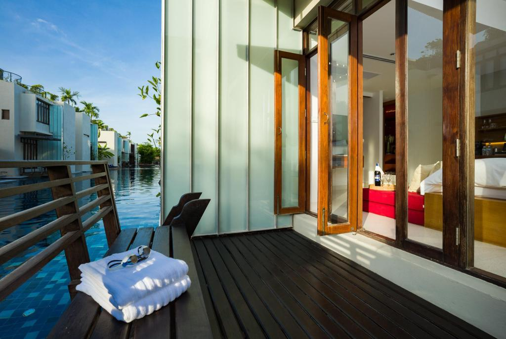 Suite with Spa Bath and Pool Access - Above 12 Years Old Only - Room plan Let's Sea Hua Hin Al Fresco Resort