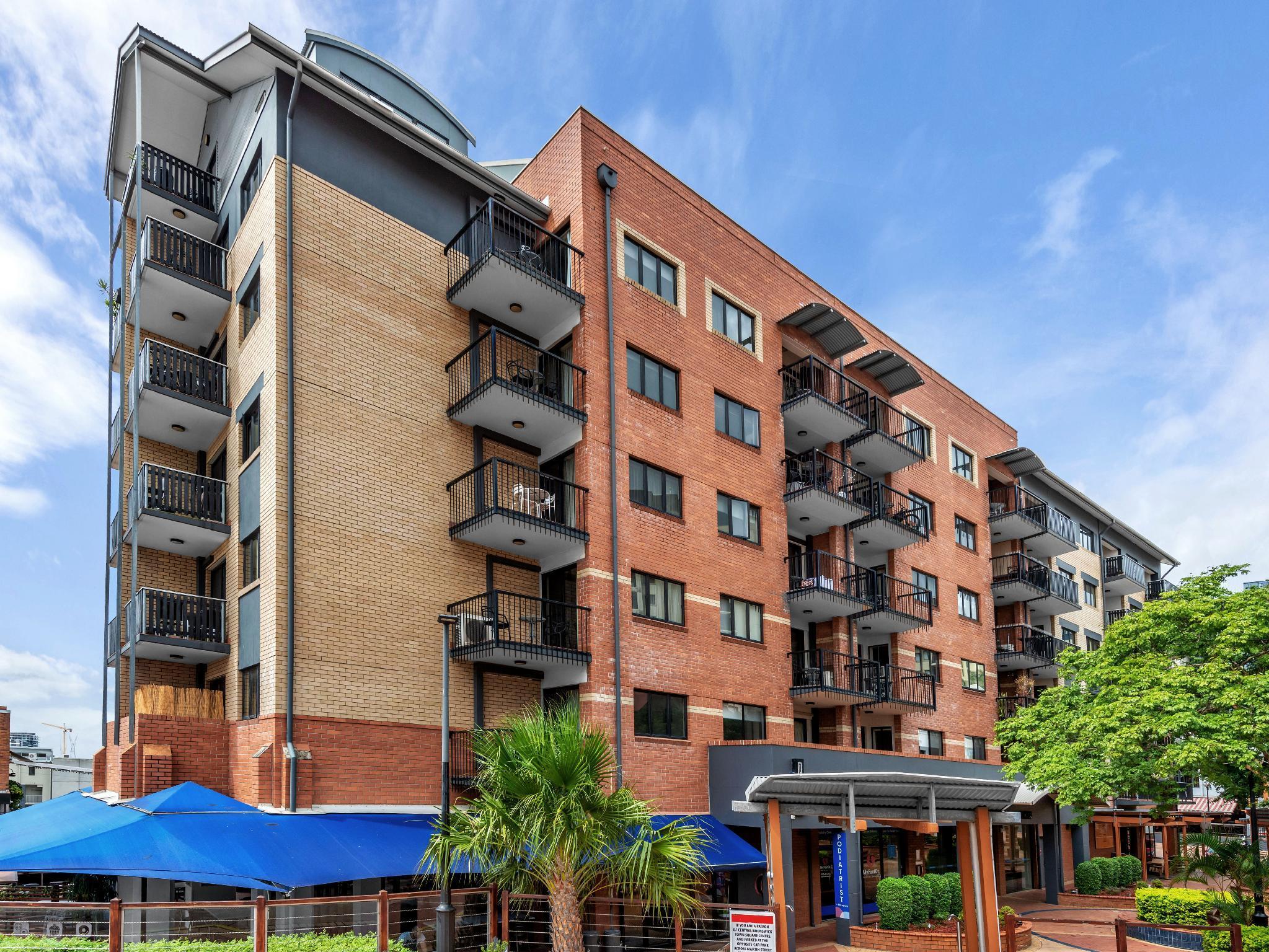 Central Brunswick Apartment Hotel Brisbane