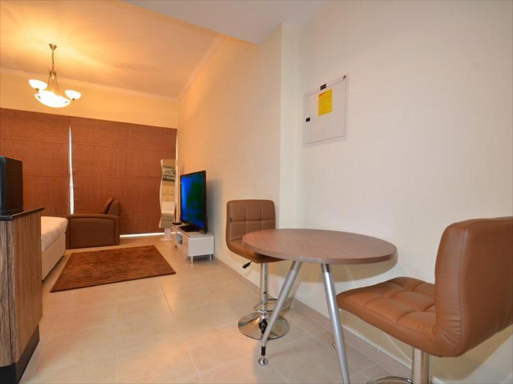 Umeblowany apartament Studio - 508 - Pokój gościnny Better Stay - Burj Al Nujoom Downtown Holiday Apartment