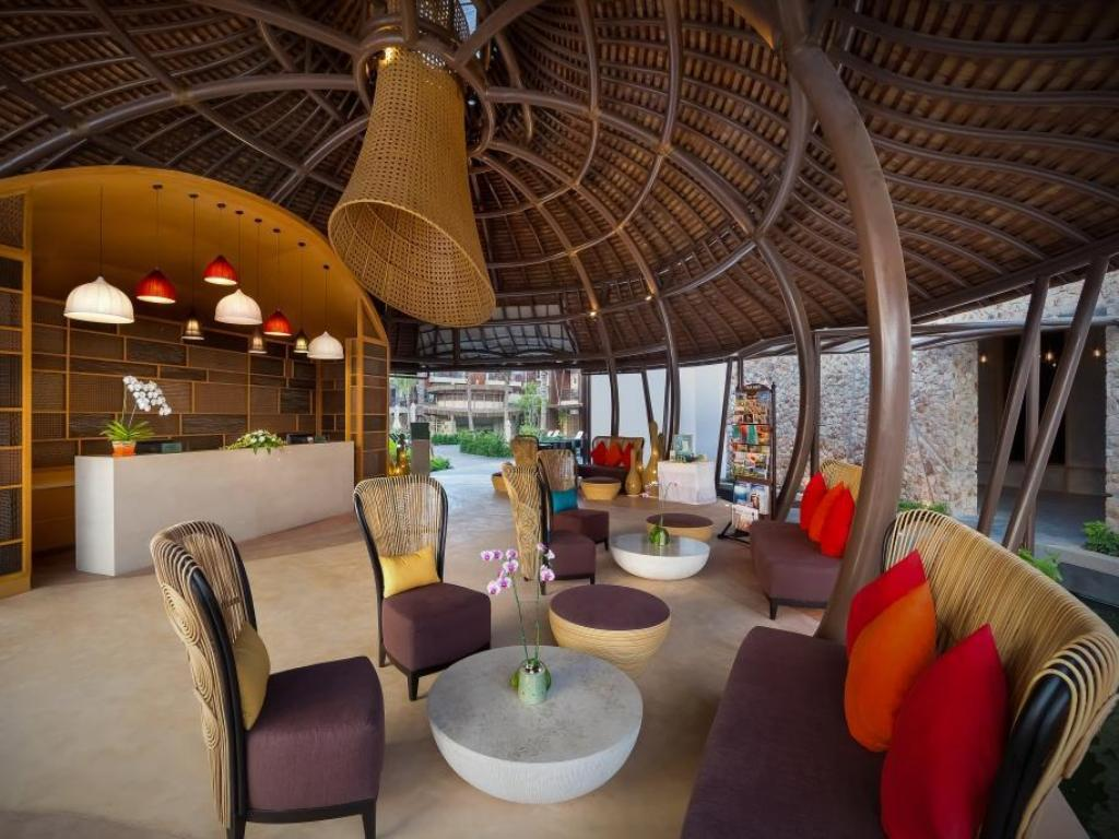 Lobby Prana Resorts Samui