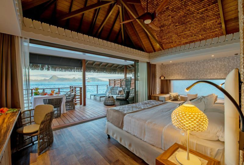 1 King Bed Overwater Bungalow Motu