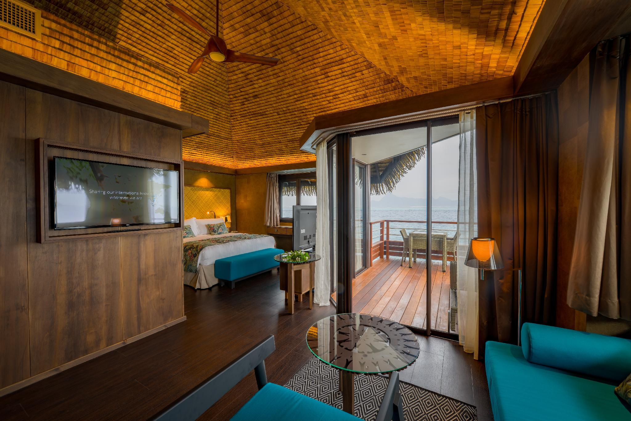 1 King Jr Suite Overwater Bungalow Lagoon